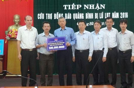 Nhung tam long hao tam tiep tuc huong ve Quang Binh - Anh 4