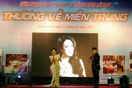 Dem nhac 'Thuong ve mien Trung' - Anh 1