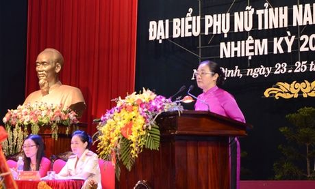 Chu dong tham gia giai quyet nhung van de thiet thuc cua phu nu - Anh 3