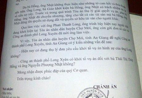 Toa hoi cong an huong giai quyet vu 'lay tai toa' o An Giang - Anh 2