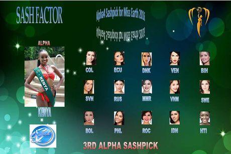Nam Em xep thu 16 binh chon o Miss Earth 2016 - Anh 2