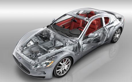 4 cong doan san xuat mot chiec xe sang Maserati - Anh 1