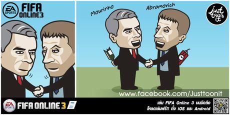 Hi hoa Conte cung Chelsea dap vo xe bus cua Mourinho - Anh 4