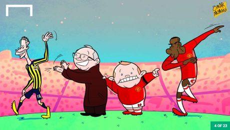 Hi hoa Conte cung Chelsea dap vo xe bus cua Mourinho - Anh 9