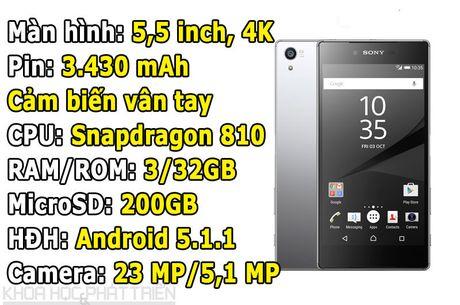 Smartphone man hinh 4K cua Sony giam gia hap dan - Anh 1