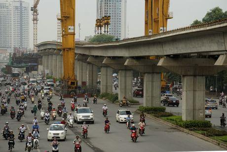 Ha Noi nong long xay dung tuyen metro so 2 - Anh 1