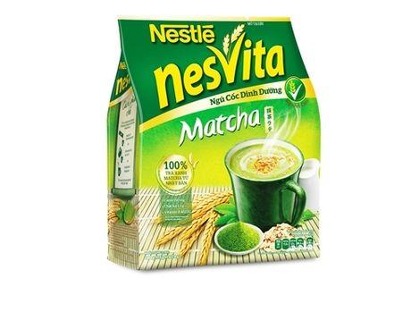 Ra mat ngu coc dinh duong Nesvita Matcha - Anh 1