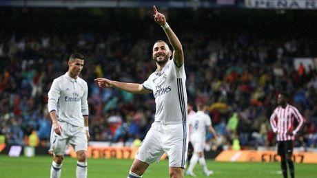 Real Madrid 2-1 Bilbao: Ronaldo im lang, Morata len tieng, Real doc chiem ngoi dau - Anh 1