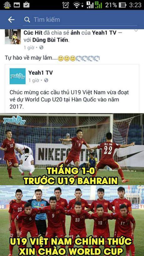 U19 Viet Nam 'ngap' loi chuc qua facebook - Anh 2