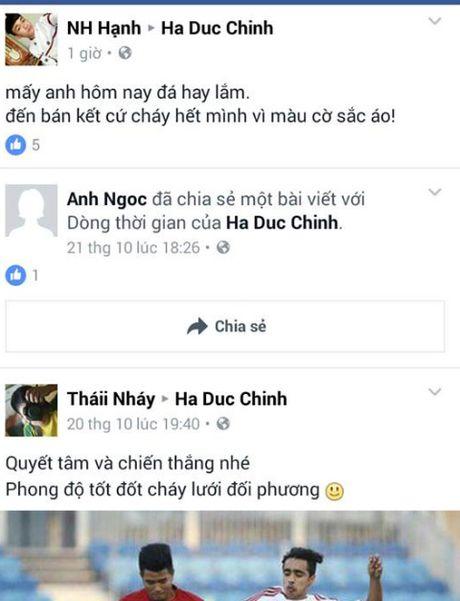 U19 Viet Nam 'ngap' loi chuc qua facebook - Anh 4
