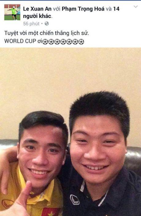 U19 Viet Nam 'ngap' loi chuc qua facebook - Anh 5