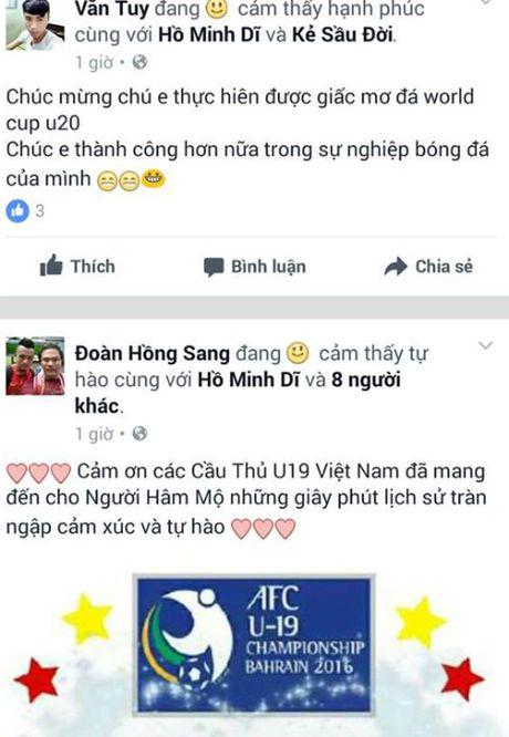 U19 Viet Nam 'ngap' loi chuc qua facebook - Anh 7