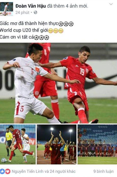 U19 Viet Nam 'ngap' loi chuc qua facebook - Anh 8