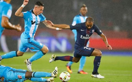 Hoa nhat Marseille, PSG 'hit khoi' Nice tai Ligue 1 - Anh 1
