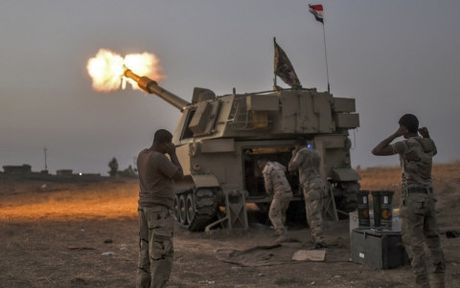 IS dot nha may san xuat luu huynh, khoi doc bao trum Mosul (Iraq) - Anh 1