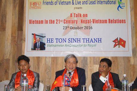 Quan he giua Viet Nam va Nepal con nhieu tiem nang de phat trien - Anh 3