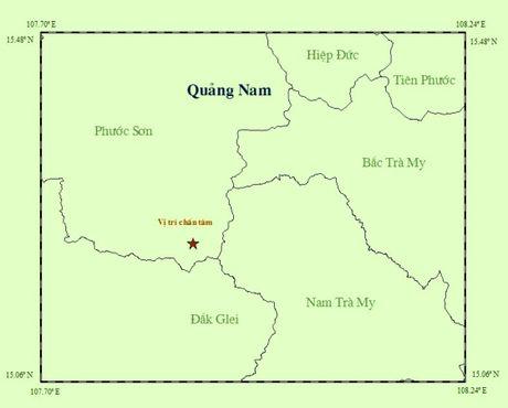 Quang Nam: Tiep tuc xay ra dong dat tai vung nui huyen Phuoc Son - Anh 1