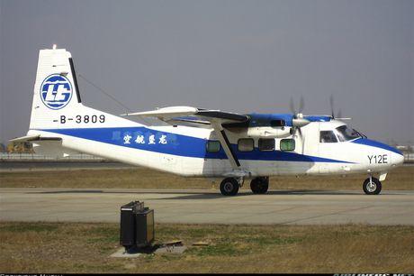 Trung Quoc ho tro luc luong an ninh Costa Rica 2 may bay Y12E - Anh 1