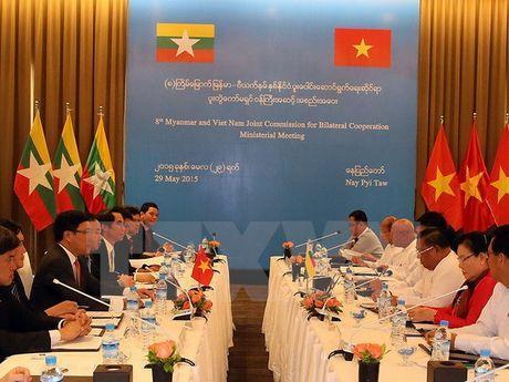 Tong thong Myanmar tham cap Nha nuoc toi Viet Nam tu 26-28/10 - Anh 1
