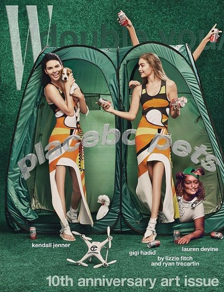Gigi - Kendall lot danh sach 'tham hoa photoshop' - Anh 4