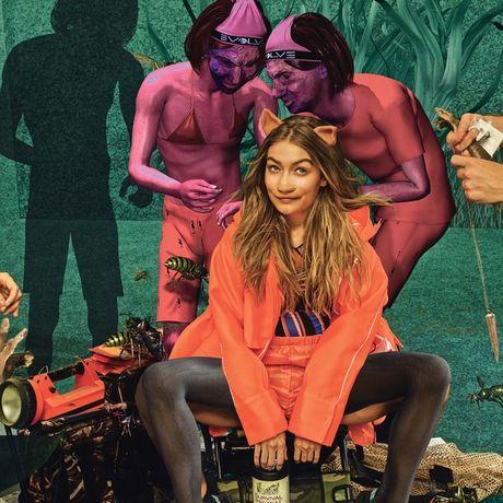 Gigi - Kendall lot danh sach 'tham hoa photoshop' - Anh 6