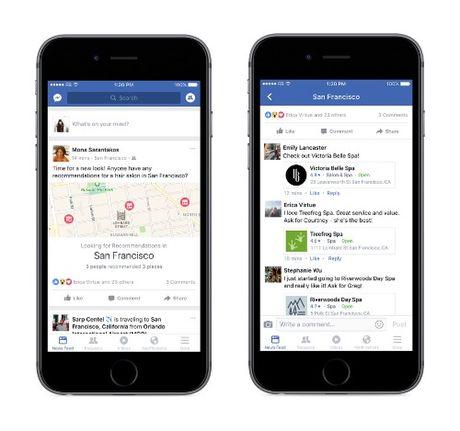 Facebook cap nhat hang loat chuc nang moi tren iOS - Anh 1