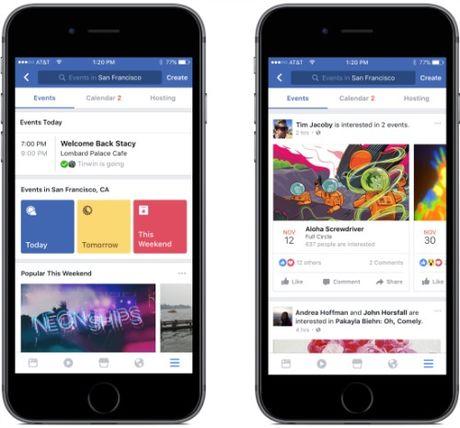 Facebook cap nhat hang loat chuc nang moi tren iOS - Anh 2