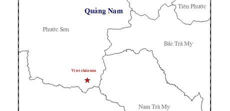 Lai dong dat kem tieng no o huyen mien nui cao Quang Nam - Anh 1