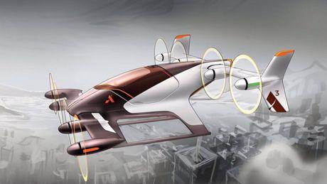 Airbus 'thai nghen' xe taxi tu bay Vahana - Anh 1
