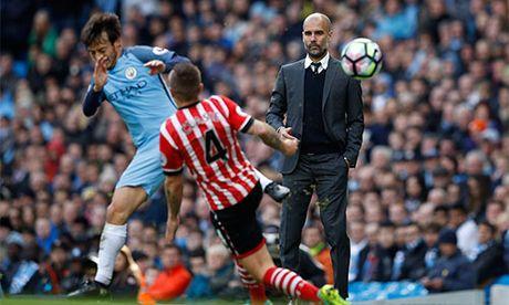 Guardiola 'giam long' hoc tro sau tran hoa Southampton - Anh 1