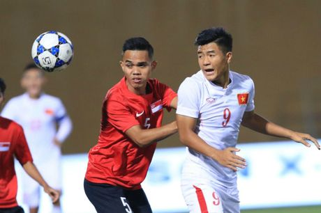 U19 Viet Nam mat chu cong truoc dai chien voi U19 Nhat Ban - Anh 1
