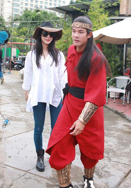 'Hau due' Thanh Long duoc Diep Lam Anh goi 'chong yeu' la ai? - Anh 1