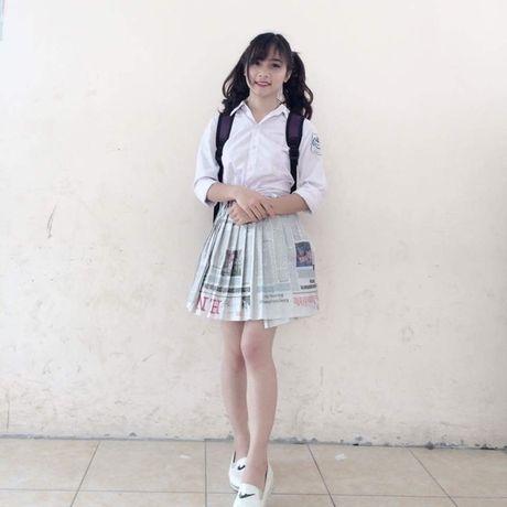 Anh doi thuong xinh lung linh cua 'hot girl cong xuong' - Anh 4