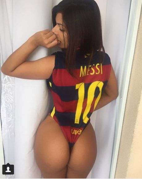 Nguoi dep cuong Messi lai gay sot voi World Cup 2018 - Anh 1