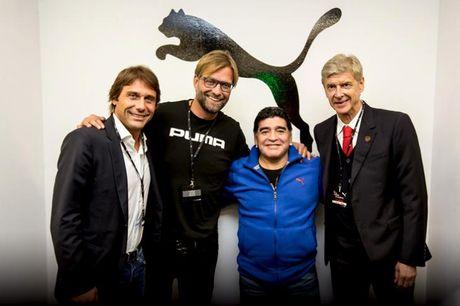 Klopp suu tap hinh anh Maradona - Anh 1