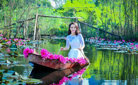 Mai Thu Huyen khoe ve dep tinh khoi tuoi tu tuan - Anh 7