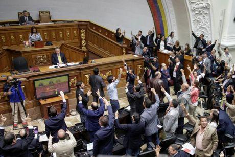 Dung do du doi giua canh sat va nguoi bieu tinh o Venezuela - Anh 11