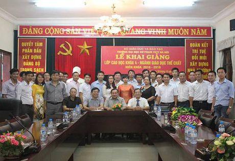 Thong bao moi du hoi truong DHSP The duc The thao Ha Noi - Anh 1