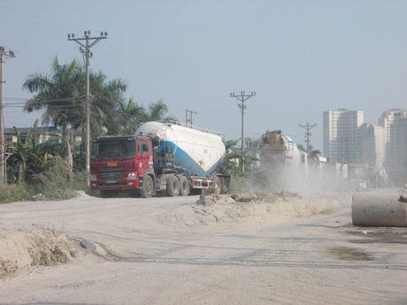 Hoai Duc, Ha Noi: He luy lau dai tu nhung tram tron be tong khong phep - Anh 2