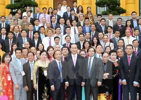 Chu tich nuoc: Tran Dai Quang: Doanh nhan Viet Nam can nuoi duong khat vong vuon toi san choi toan cau - Anh 1