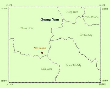 Lai dong dat 2,9 do Richter o mien nui Quang Nam - Anh 1