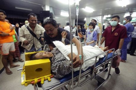 No bom tai mien Nam Thai Lan, hang chuc nguoi thuong vong - Anh 1