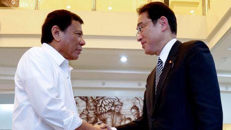 Tong thong Philippines tham Nhat Ban - Anh 1