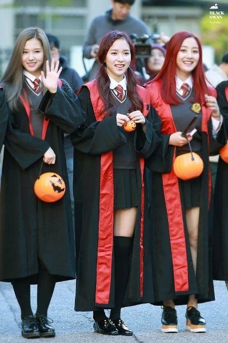 Goi y hoa trang Halloween tu idol Han - Anh 4