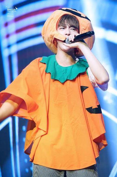 Goi y hoa trang Halloween tu idol Han - Anh 8