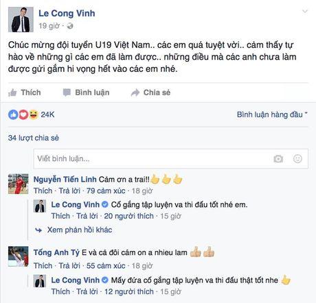 HLV Calisto, cac dan anh ca tung chien cong cua U19 Viet Nam - Anh 2