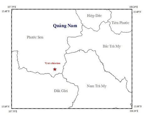 Tiep tuc xay ra dong dat tai tinh Quang Nam - Anh 1