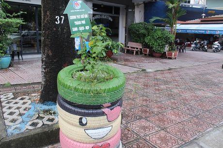 Pho phuong Sai Gon khoac mau ao moi bang nhung chau hoa dang yeu - Anh 8