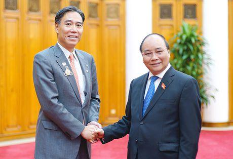 Thu tuong muon 'lang than ky' Nhat Ban co mat tai Viet Nam - Anh 1
