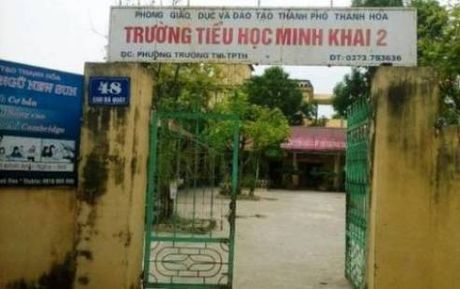 Thanh Hoa: Cac truong tra lai tien thu sai quy dinh - Anh 1